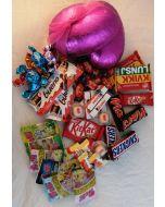 Påskeegg 15cm Sjokolade og Godteri Hjerteform Ferrero Rochet, Nettbutikk bryllup, alt til bryllupet,  fruktkurv som gaver, bestille fruktkurv gave, fruktkurv gave, gavekurv frubordpynt bryllup, bryllup dekorasjon til leie,bryllup, bryllupspynt, borddekor