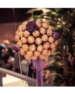Ferrero Rocher Bukett XL, Sjokolade gaver nettbutikk, sjokolade konfekt nettbutikk, sende sjokolade på døra, konfekt på døra, konfekt gaver på nett, sjokolade som gaver, sjokoladekurv gaver, fruktkurv som gaver,  send blomster, ostekurv, 17 Mai Gaver, 17