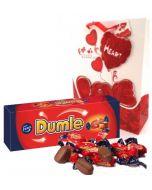 Dumle Original 350g Sjokolade gaver nettbutikk, sjokolade konfekt nettbutikk, sende sjokolade på døra, konfekt på døra, konfekt gaver på nett, sjokolade som gaver, sjokoladekurv gaver, fruktkurv som gaver,  send blomster, ostekurv, 17 Mai Gaver, 17. mai
