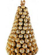 Ferrero Rocher  tre stor Hjerteform Ferrero Rochet, Nettbutikk bryllup, alt til bryllupet,  fruktkurv som gaver, bestille fruktkurv gave, fruktkurv gave, gavekurv frubordpynt bryllup, bryllup dekorasjon til leie,bryllup, bryllupspynt, borddekorasjon bryl