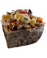 SjokoladeKurv Ca.750g Hjerteform Ferrero Rochet, Nettbutikk bryllup, alt til bryllupet,  fruktkurv som gaver, bestille fruktkurv gave, fruktkurv gave, gavekurv frubordpynt bryllup, bryllup dekorasjon til leie,bryllup, bryllupspynt, borddekorasjon bryllup