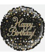 Sjokolade som gaver, Happy Birthday folieballong som gaver, send gaver på døra, blomster på døra