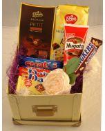 Sjokolade og Nugatti som gaver Hjerteform Ferrero Rochet, Nettbutikk bryllup, alt til bryllupet,  fruktkurv som gaver, bestille fruktkurv gave, fruktkurv gave, gavekurv frubordpynt bryllup, bryllup dekorasjon til leie,bryllup, bryllupspynt, borddekorasjo
