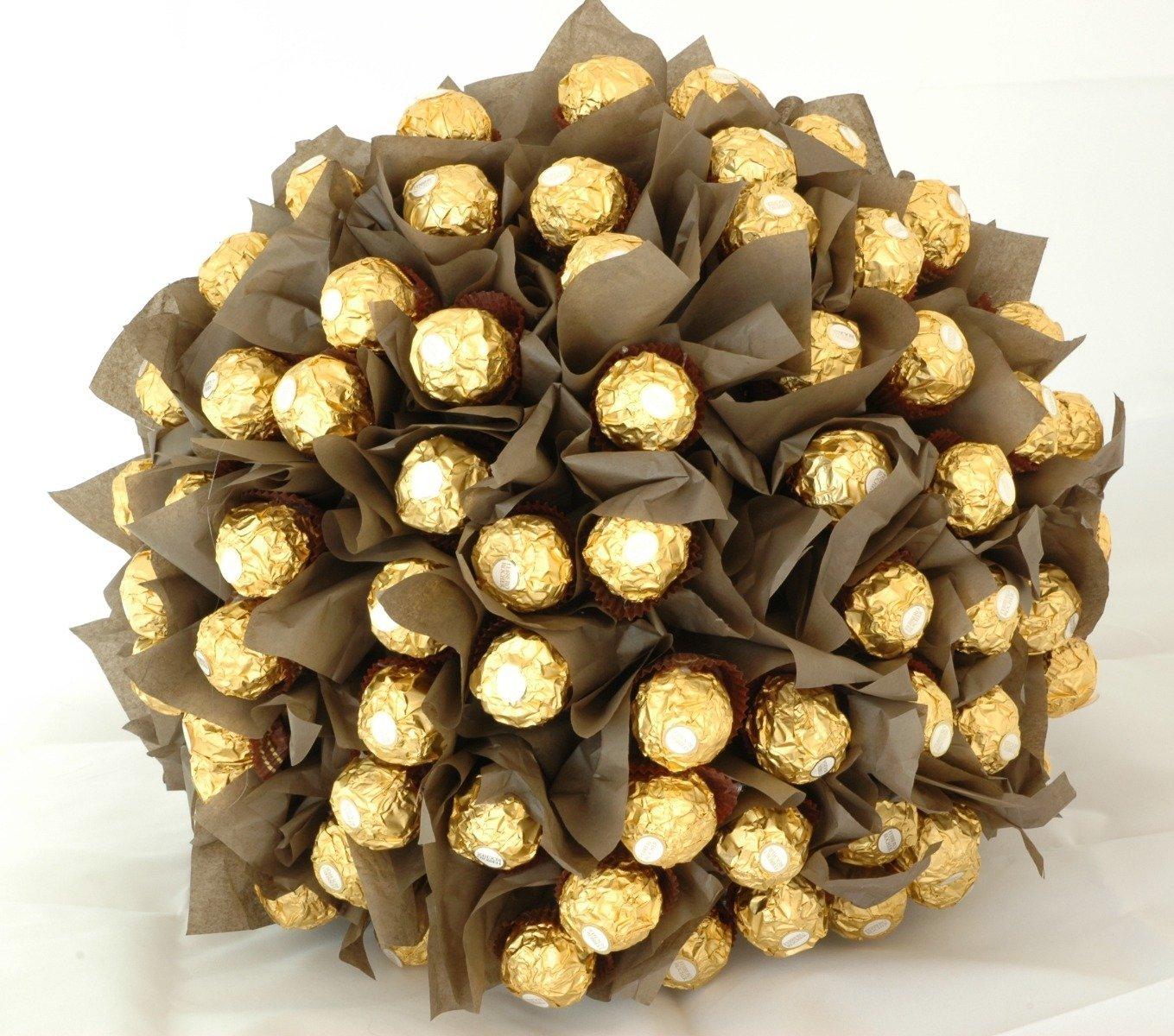 Bryllups brodpynt med Ferrero Rocher