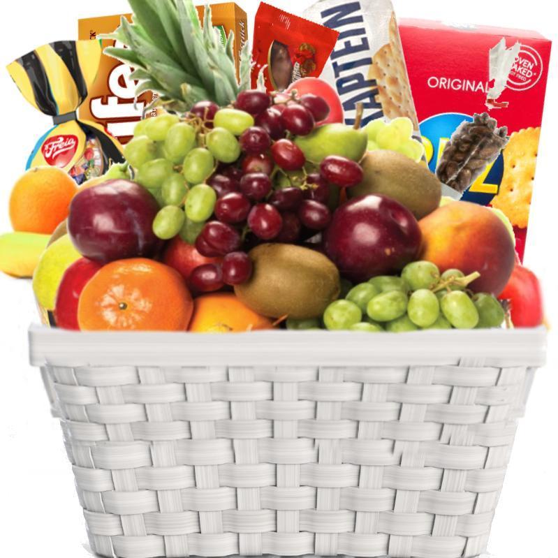 Fruktkurv 5kg med Julegodt