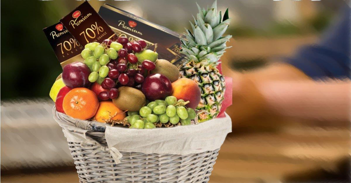 fruktkurv som god bedring gaver