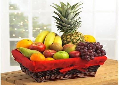julegaver fruktkurv