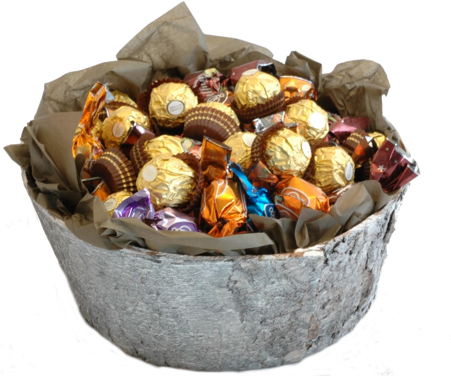 sjokoladekurv som gaver
