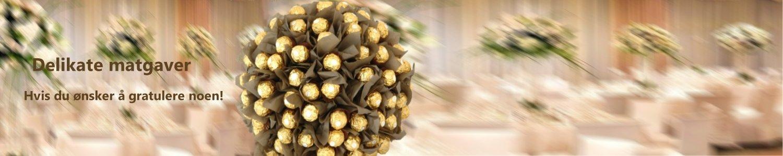 Delikate sjokolade