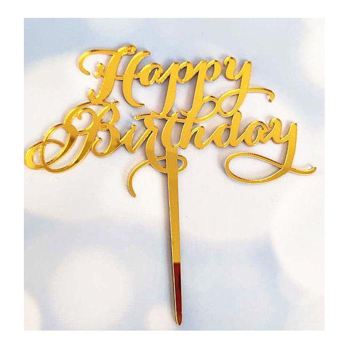 Happy Birthday tilbehør i gavekurv, sjokoladekurv som gaver, sendt bursdaggaver på døra