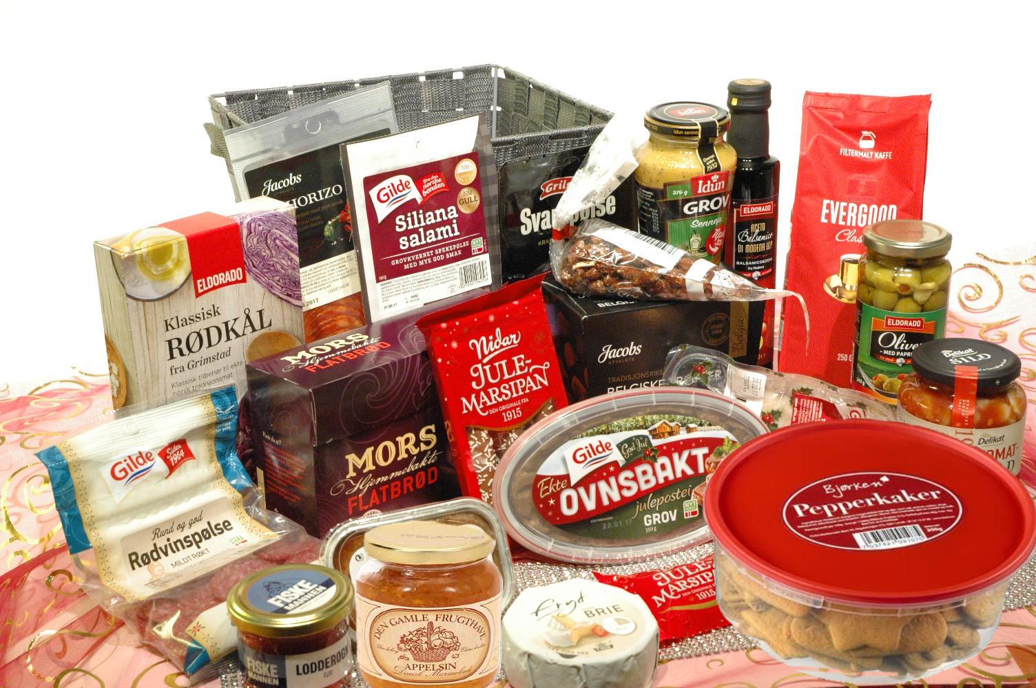 Eksklusive mat som Julegaver