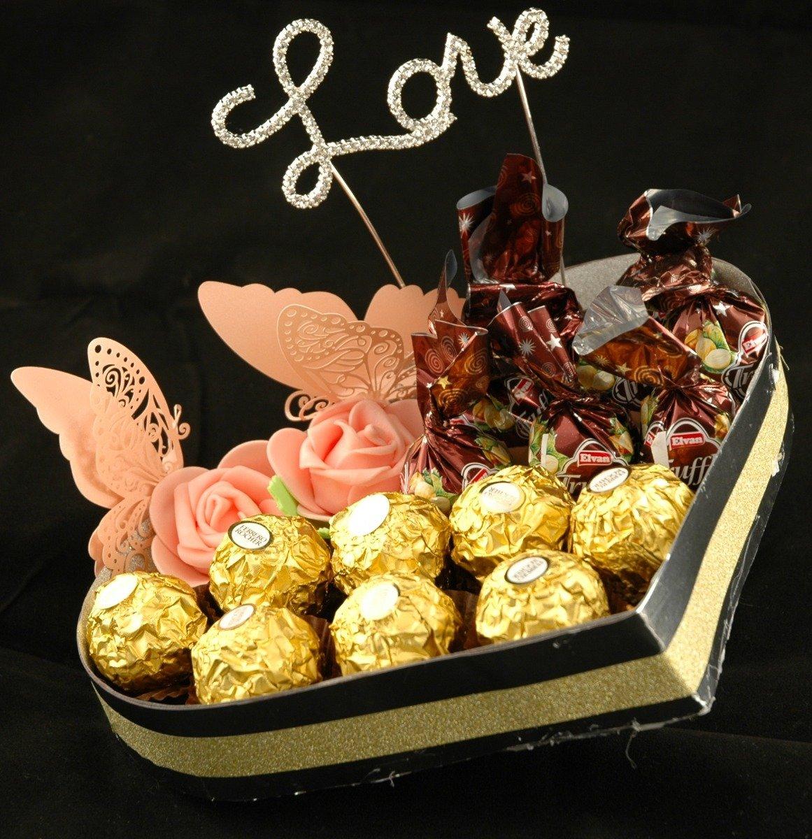 sjokolade på døra