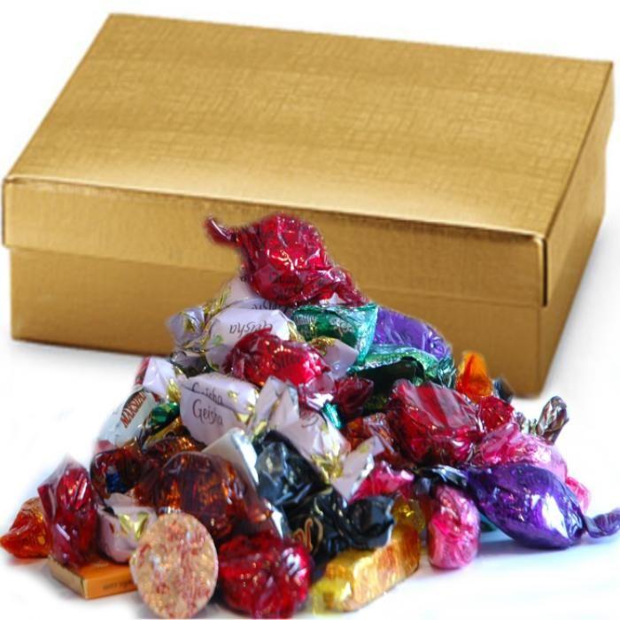 Sjokolade julegaver 250g