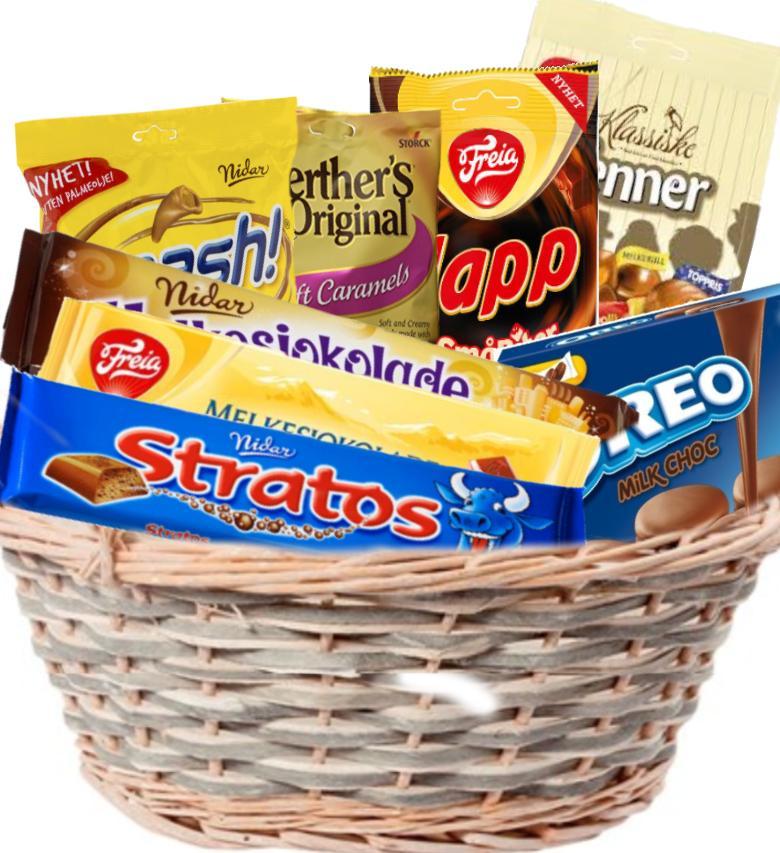 Sjokolade som gaver 1400g