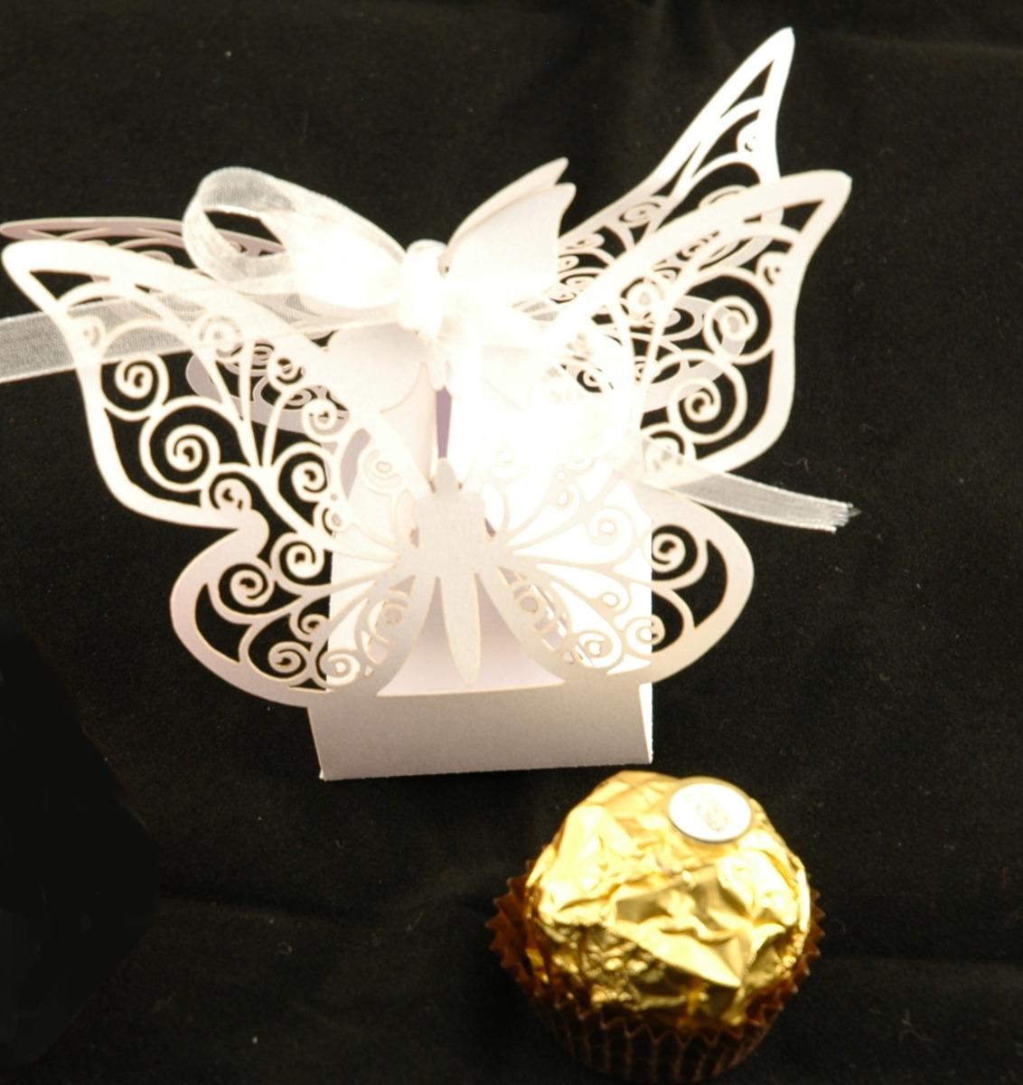 Små gaveesker med godteri