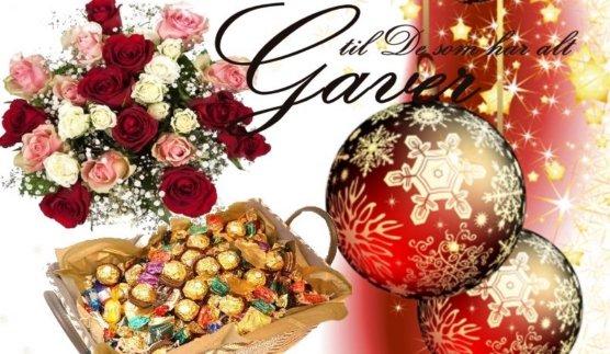 julegaver mat