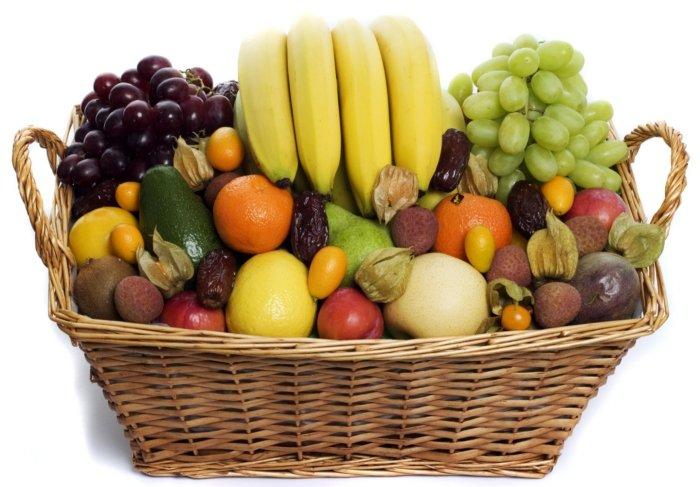 Fruktkurv som gaver 10kg