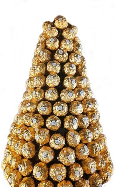 Ferrero rocher juletre